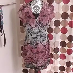 The limited floral print dress